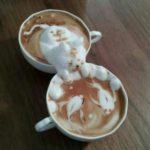 Раф кофе приготовление волшебного союза эспрессо и сливок дома